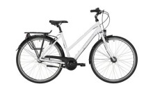 "Citybike Victoria Trekking 1.6 Trapez 28"" anodised white/anthracite"