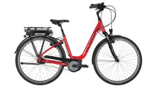 "E-Bike Victoria e Trekking 5.5SE Deep 28"" rasperry red/black"