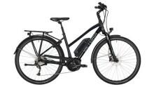 "E-Bike Victoria e Trekking 6.3 Trapez 28"" black/skyblue"