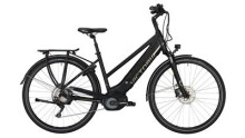 """E-Bike Victoria e Trekking 12.9 Trapez 28"""" black matt/green"""