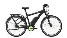 """E-Bike Victoria e Manufaktur 9.3 Unisex 28"""" black matt/limegreen"""