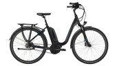 "E-Bike Victoria e Trekking 7.7 Deep 28"" black matt/skyblue"