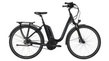 "E-Bike Victoria e Trekking 7.7 Deep 28"" black matt/skyblue"