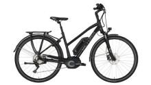 """E-Bike Victoria e Trekking 8.9 Trapez 28"""" black matt/green"""