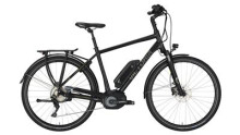 "E-Bike Victoria e Trekking 8.9 Herren 28"" black matt/green"