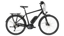 "E-Bike Victoria e Trekking 8.9 Herren 28"" black matt/green"