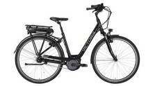 "E-Bike Victoria e Trekking 7.3 Wave 28"" black/lightapple"