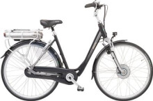 E-Bike Sparta F8e RT  BLACK/SILVER MAT