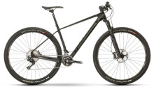 Mountainbike Raymon NINERAY 8.0 Carbon Hardtail Schwarz