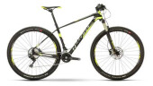 Mountainbike Raymon NINERAY 7.0 Carbon Hardtail Schwarz