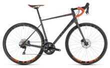 Rennrad Cube Attain SL Disc grey´n´orange