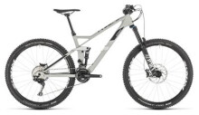 Mountainbike Cube Stereo 140 HPC Race 27.5 grey´n´white