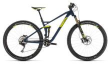 Mountainbike Cube Stereo 120 SL 29 smokyblue´n´lime