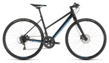 Crossbike Cube SL Road black´n´blue Trapez
