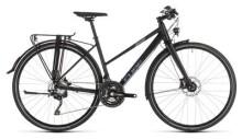 Trekkingbike Cube Travel Sport black´n´blue Trapez
