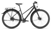 Citybike Cube Travel Pro black´n´brown Trapez