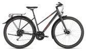 Trekkingbike Cube Travel iridium´n´red Trapez