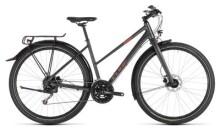 Trekkingbike Cube Travel iridium´n´red Trapez