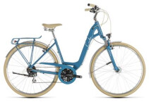 Trekkingbike Cube Ella Ride blue´n´cream