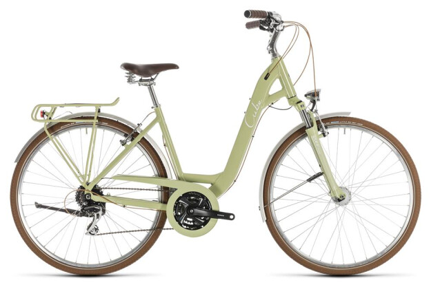 Trekkingbike Cube Ella Ride green´n´white 2019