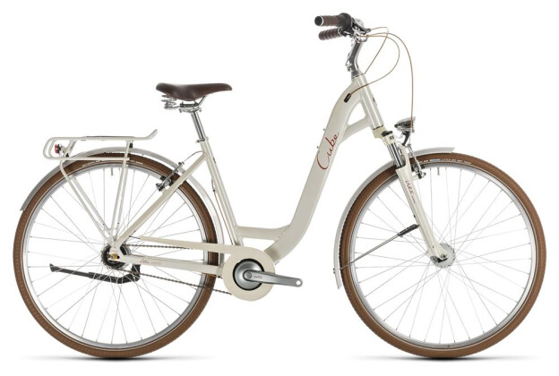 Citybike Cube Ella Cruise cream´n´red 2019