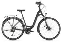 Trekkingbike Cube Touring EXC black´n´brown Easy Entry