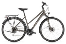 Trekkingbike Cube Touring Pro brown´n´silver Trapez