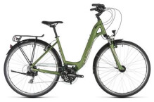 Trekkingbike Cube Touring green´n´silver Easy Entry