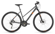 Trekkingbike Cube Cross EXC grey´n´orange Trapez
