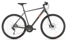 Trekkingbike Cube Cross EXC grey´n´orange