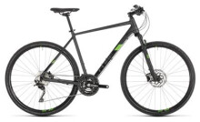 Trekkingbike Cube Cross Pro iridium´n´green