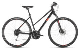 Crossbike Cube Nature Pro black´n´red Trapez