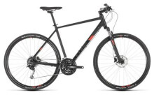 Crossbike Cube Nature Pro black´n´red