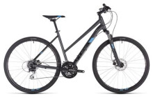 Crossbike Cube Nature iridium´n´blue Trapez