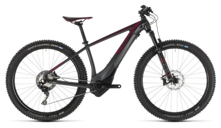 E-Bike Cube Access Hybrid SLT 500 KIOX iridium´n´berry 2019