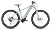 E-Bike Cube Access Hybrid EXC 500 blue´n´coral