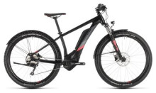 E-Bike Cube Access Hybrid Pro 400 Allroad black´n´coral