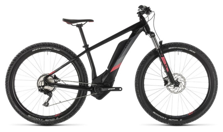 E-Bike Cube Access Hybrid Pro 500 black´n´coral 2019