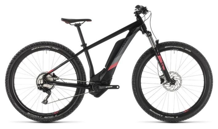 E-Bike Cube Access Hybrid Pro 400 black´n´coral 2019