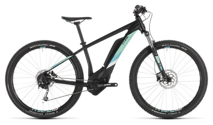 E-Bike Cube Access Hybrid ONE 400 black´n´mint 2019