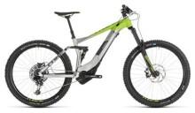 E-Bike Cube Stereo Hybrid 160 Race 500 27.5 grey´n´green