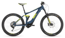 E-Bike Cube Stereo Hybrid 140 SL 500 27.5 darkblue´n´lime