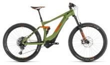E-Bike Cube Stereo Hybrid 140 Race 500 27.5 green´n´orange