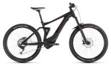 E-Bike Cube Stereo Hybrid 140 Pro 500 27.5 black´n´red