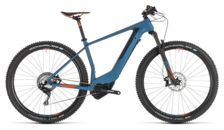 E-Bike Cube Elite Hybrid C:62 Race 500 29 blue´n´orange 2019