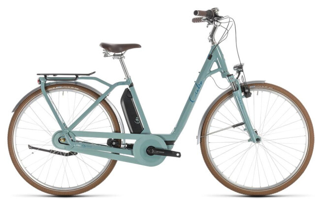 E-Bike Cube Elly Cruise Hybrid 400 pistachio´n´blue 2019