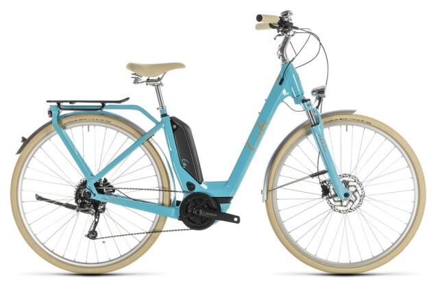 E-Bike Cube Elly Ride Hybrid 400 aqua´n´orange 2019