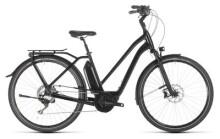 E-Bike Cube Town Sport Hybrid SL 500 black edition Trapez