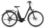 E-Bike Cube Town Sport Hybrid SL 500 black edition Easy Entry
