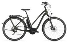E-Bike Cube Town Sport Hybrid EXC 500 green´n´black Trapez